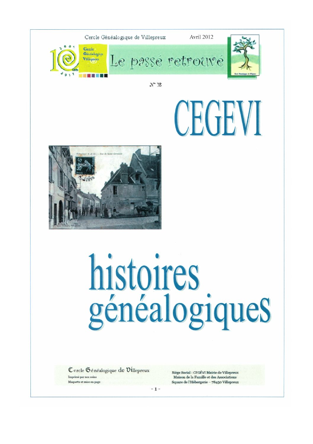 Article généalogie